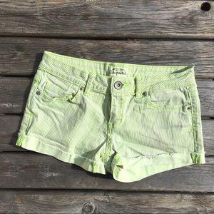 ☀️3/$25 Aeropostale Striped Stretch Shorts